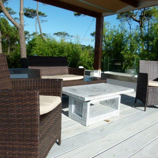 Punta del Este Investments zona de Pinares deck terraza y muebles